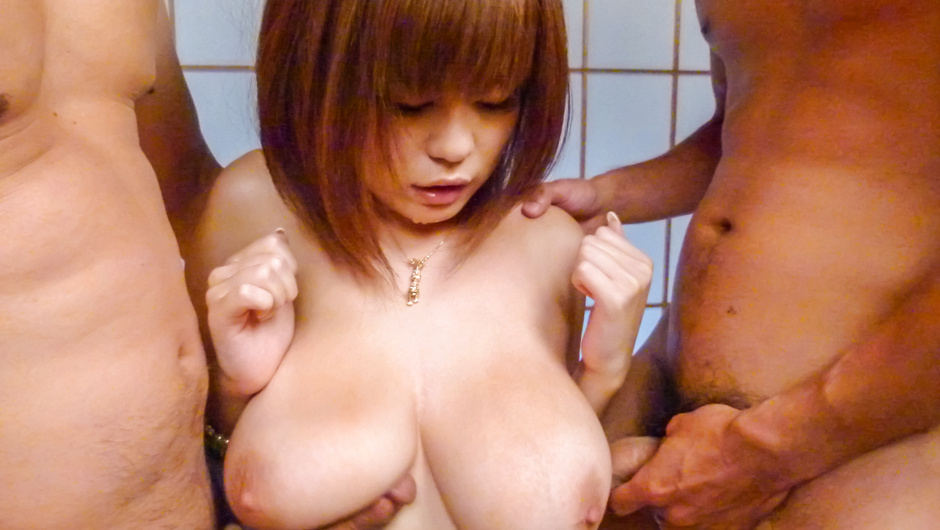 Gang bang asian creampie