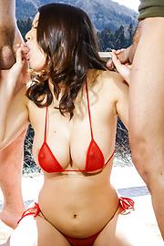 Kaede Niiyama - Kaede Niiyamaenjoys Japanese blowjob on cam - Picture 4