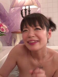 Nao Mizuki - Stuning Nao Mizuki Japanese handjob in the tub  - Screenshot 4