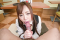 POV Japanese blowjob along sweetRino Sakuragi