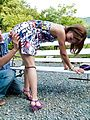 MILF Aika Gets Her Pussy Drilled Outdoors Photo 8