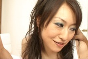 Ryo Kaede gets several dicks to enlarge her hairy Asian cunt  Photo 2