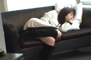 Kosaka sexy asian in lingerie banged and jizzed on  Photo 7