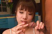 橘ひなた - グループフェラ、ザーメンゴックン大好き! - Picture 1