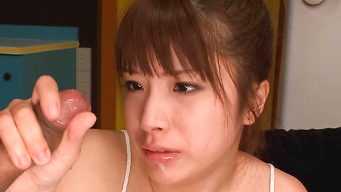 Hinata Tachibana - ฮินาตะ ทาจิบานะ วัยรุ่นเอเชียให้เลิกกับผู้ชายสองคน -  4 รูปภาพ