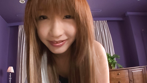 Sana Anzyu - BJ besar dari Sana Anzyu dalam video seks amatir Jepang - gambar 1