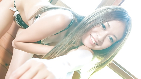 Risa Misaki - Risa Misaki provides steamy Asian blowjob in threesome - Picture 7