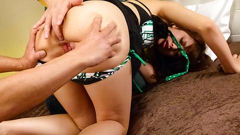 Hinata Tachibana - ร้อนเอเชีย creampie vids ของฮินาตะทาจิบานะใน Threesome -  10 รูปภาพ