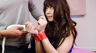 Fit Teen Megumi Shino Gets Slammed And Creampied