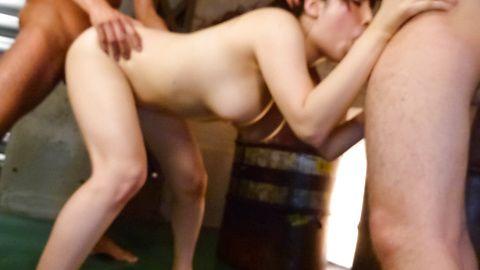 อาซูสะนางาซาว่าแท็กทีมญี่ปุ่น creampie ภาพยนตร์เพศ