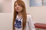 Sakamoto Hikari's Schoolgirl Pussy Made To Squirt Photo 6