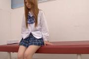 Sakamoto Hikari's Schoolgirl Pussy Made To Squirt Photo 8