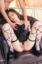 Nao - สวยเซ็กส์หิว Babe ในแหอวนและ squirting หีลูบไล้ด้วยความรัก -  9 รูปภาพ