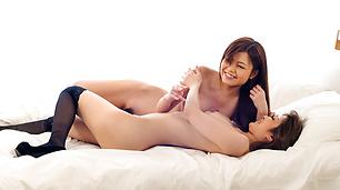 Nao and Yuria enjoy hot lesbian action