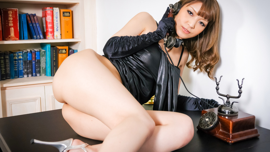 Hottest solo session with sexy MILF Yuria