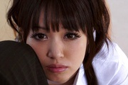 Young schoolgirl Kotomi likes to swallow warm loads of cream  Photo 11