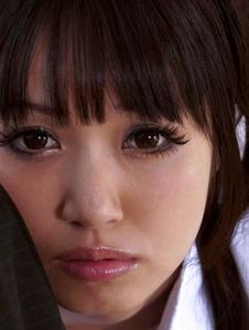 Kotomi - Pervert Asian girl Kotomi gagging a hard cock for cum - Screenshot 11